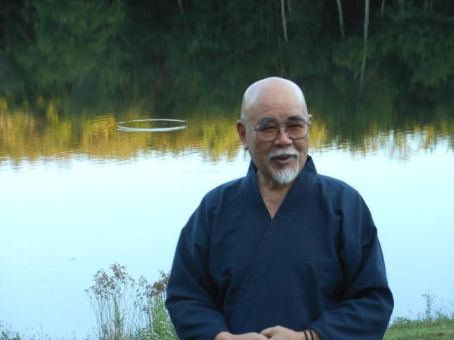 Hyakuten-Sensei, my Reiki Teacher from Kyoto, Japan.