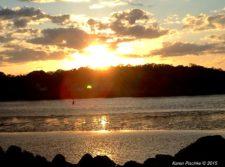 Sunset Over the Annisquam